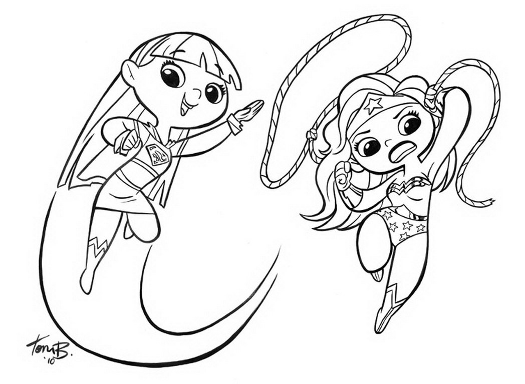 cute coloring page - supergirl coloring pages best coloring pages for kids