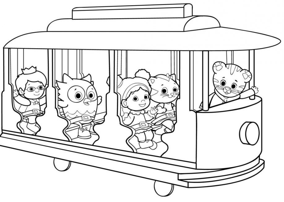 tiger family coloring pages - photo#14