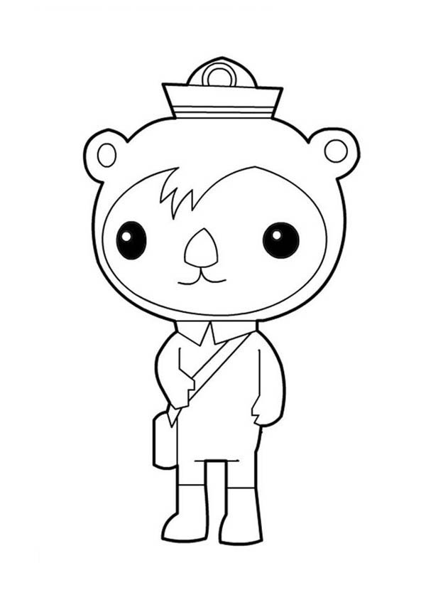 octonauts coloring pages all creatures - photo#36