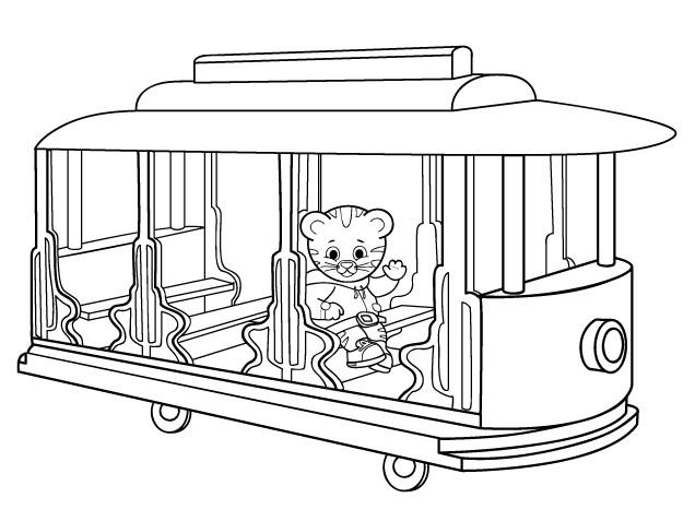 daniel tiger family coloring pages - photo#27
