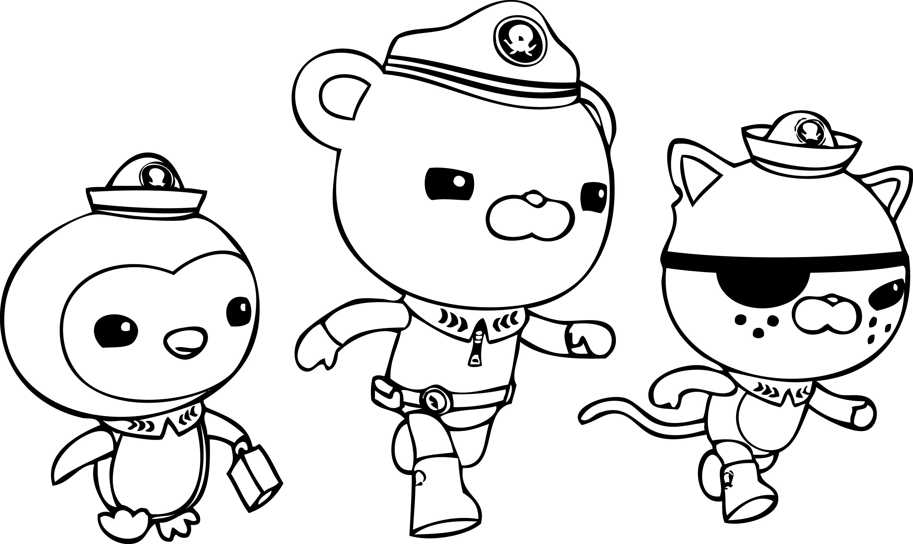 Octonauts Coloring Pages - Best Coloring Pages For Kids