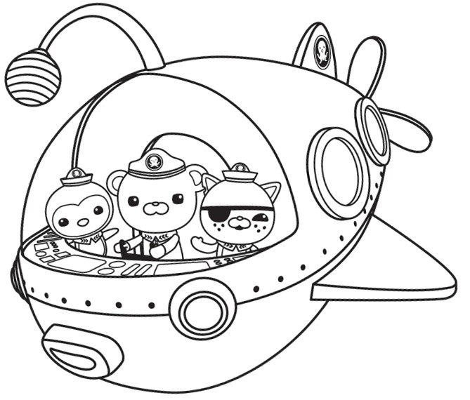 octonauts color pages octonauts coloring pages best coloring pages for kids
