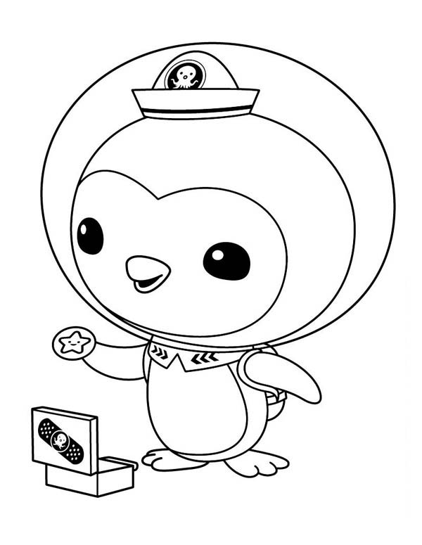 Peso - Octonauts Coloring Pages