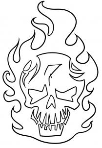 Suicide Squad Skull Icon