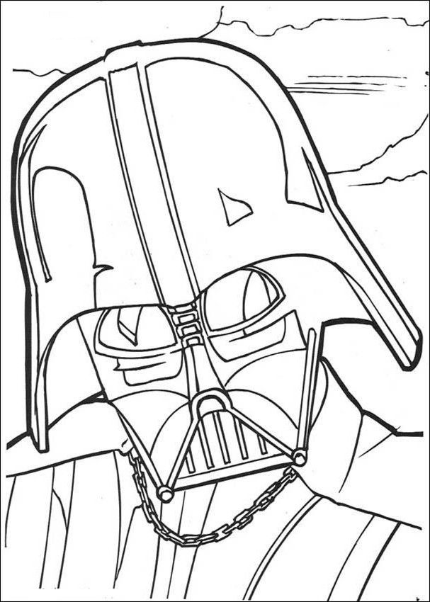 Darth Vader Coloring Pages Best Coloring Pages For Kids Darth Vader Coloring Pages To Print