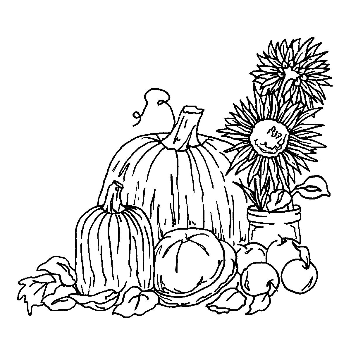 harvest coloring pages printables - Harvest Coloring Pages Printables