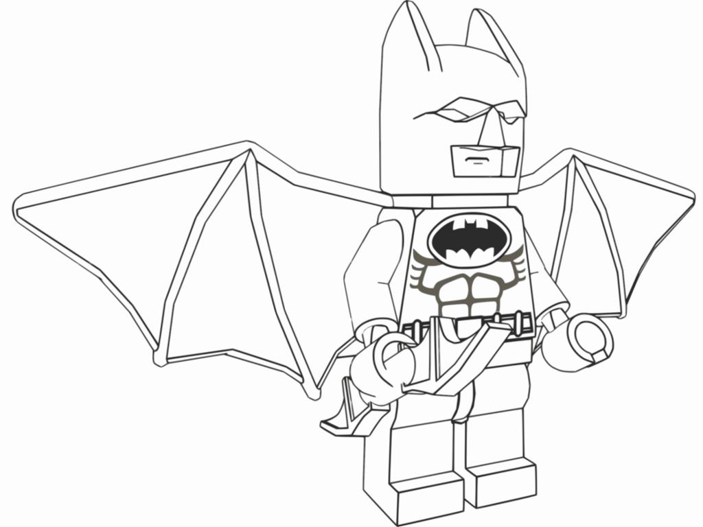 Lego Batman Coloring Pages Best
