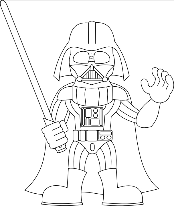 darth vader coloring pages for kids | Darth Vader Coloring Pages - Best Coloring Pages For Kids