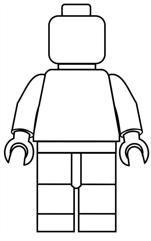 Man - Lego Coloring Pages
