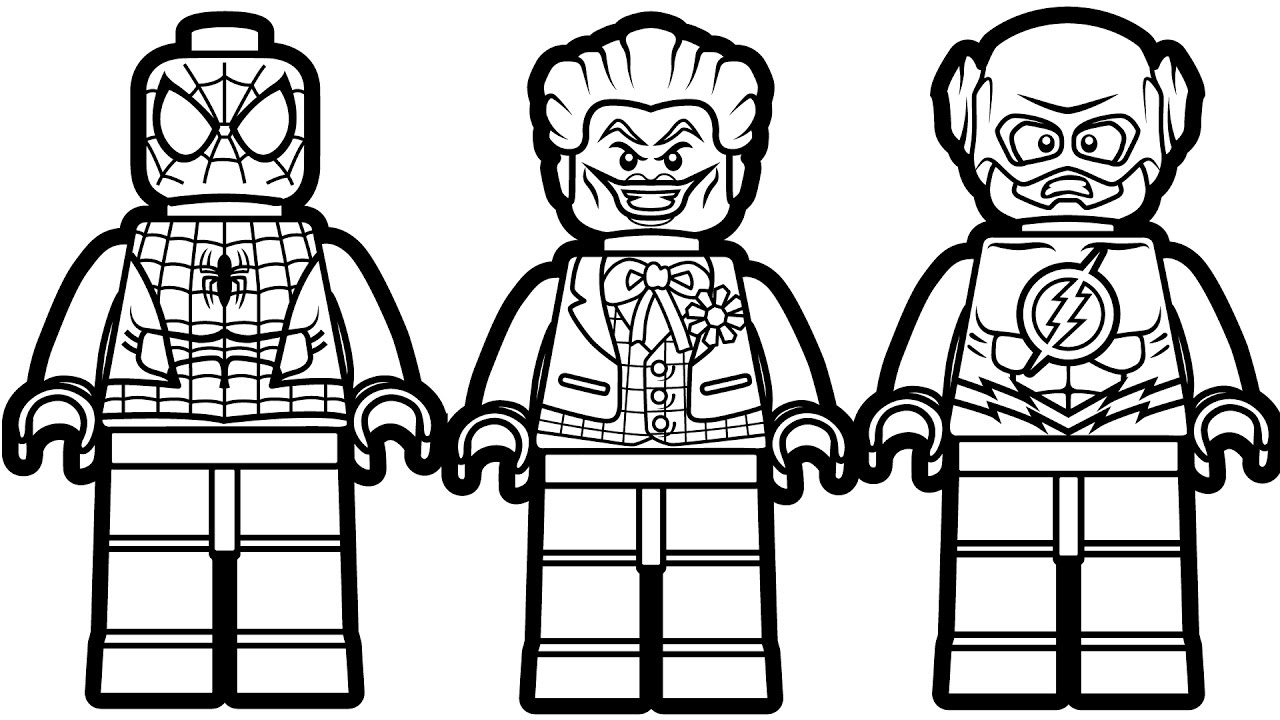 Ordinaire Marvel Lego Coloring Pages