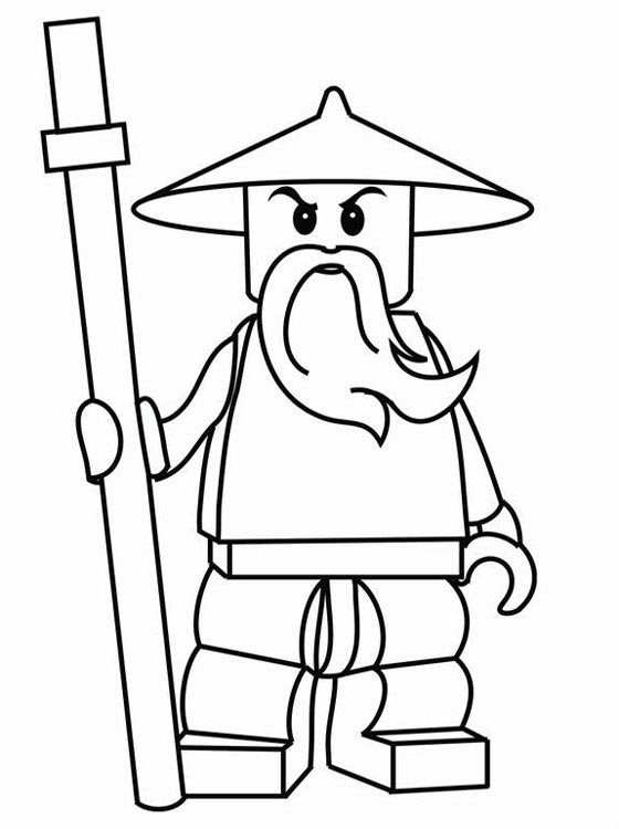 Ninjago Lego Coloring Pages