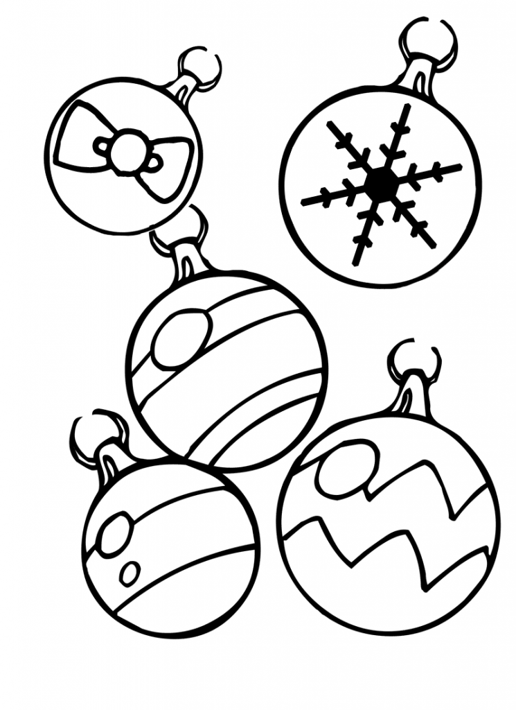 Christmas ornament coloring pages best coloring pages for Coloring pages for kids christmas
