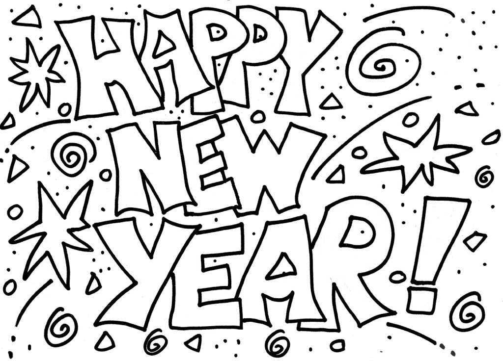 Happy new year coloring pages best coloring pages for kids - New years colors 2019 ...