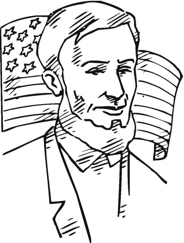 Abraham lincoln coloring pages best coloring pages for kids for Lincoln coloring pages
