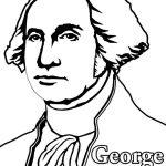 Free George Washington Coloring Page