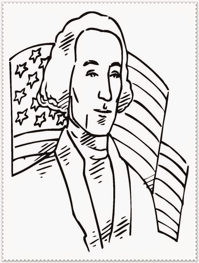 George Washington Coloring Pages Best Coloring Pages For Kids