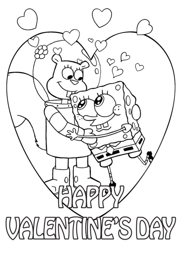 valetines day coloring pages-#46