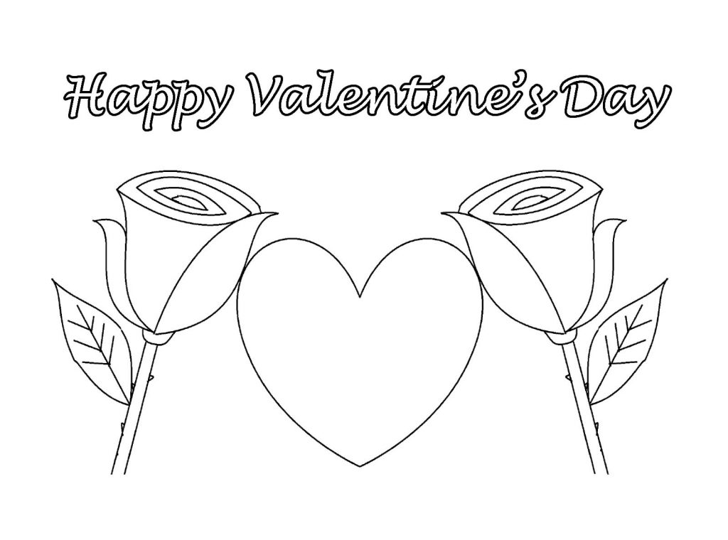 happy valentine day coloring pages-#28
