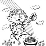 Leprechaun Coloring Pages For Free