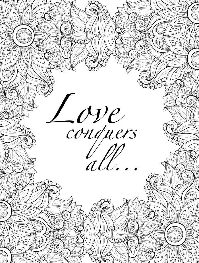 Valentines day coloring pages for adults best coloring Best colouring books for adults 2018