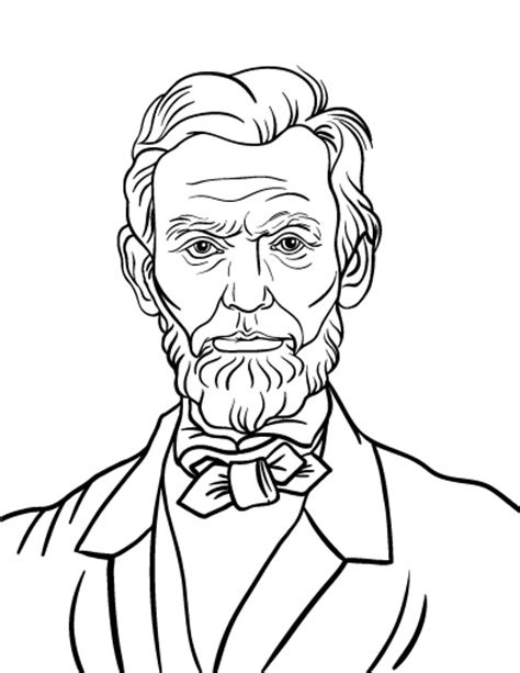 printable abraham lincoln coloring pages - Coloring Page Abraham Lincoln