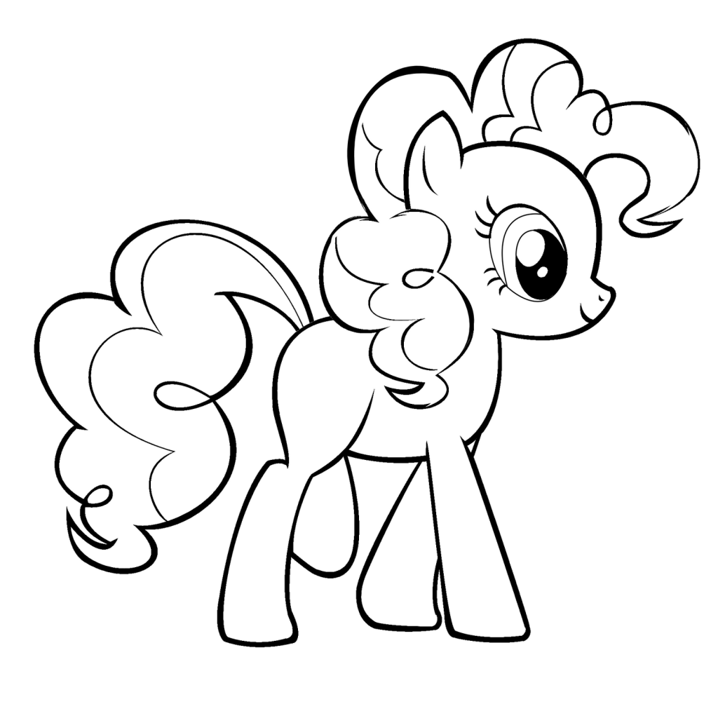 Printable Pinkie Pie Coloring Pages