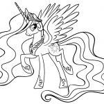 Printable Princess Celestia