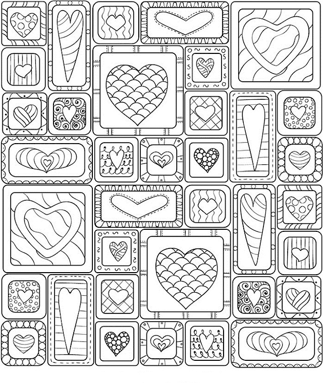 Valentines Day Coloring Pages for Adults - Best Coloring Pages For ...