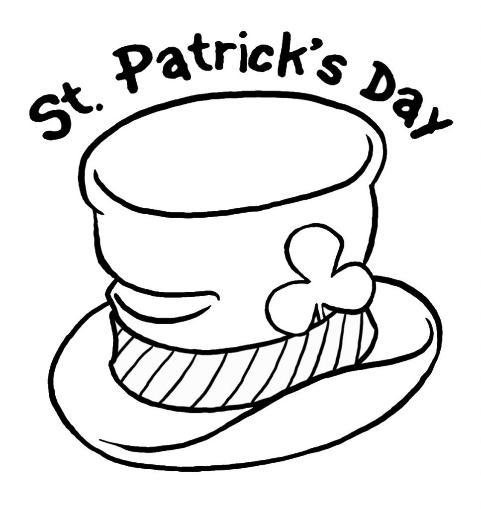 St patricks day coloring pages best coloring pages for kids for Patrick coloring pages