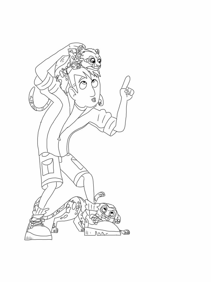 Wild Kratts Coloring Pages Best