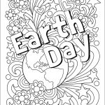 Complex Earth Day Coloring Pages