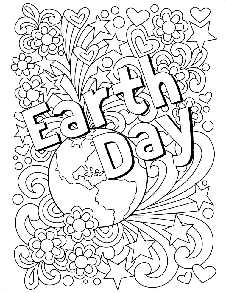 Earth day coloring pages best coloring pages for kids for Elaborate coloring pages
