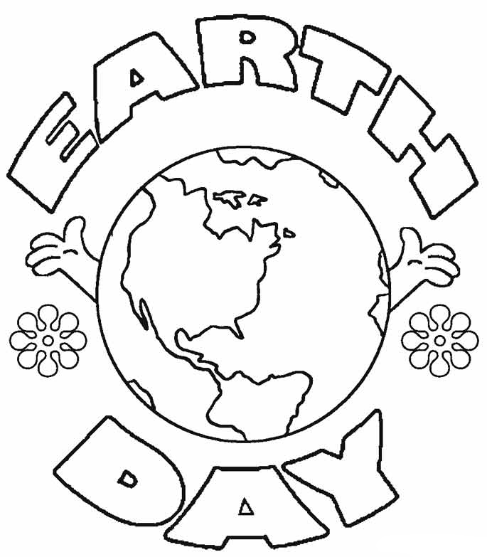 Earth Day Coloring Pages Best