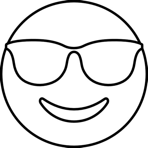 Emoji Coloring Pages - Cool