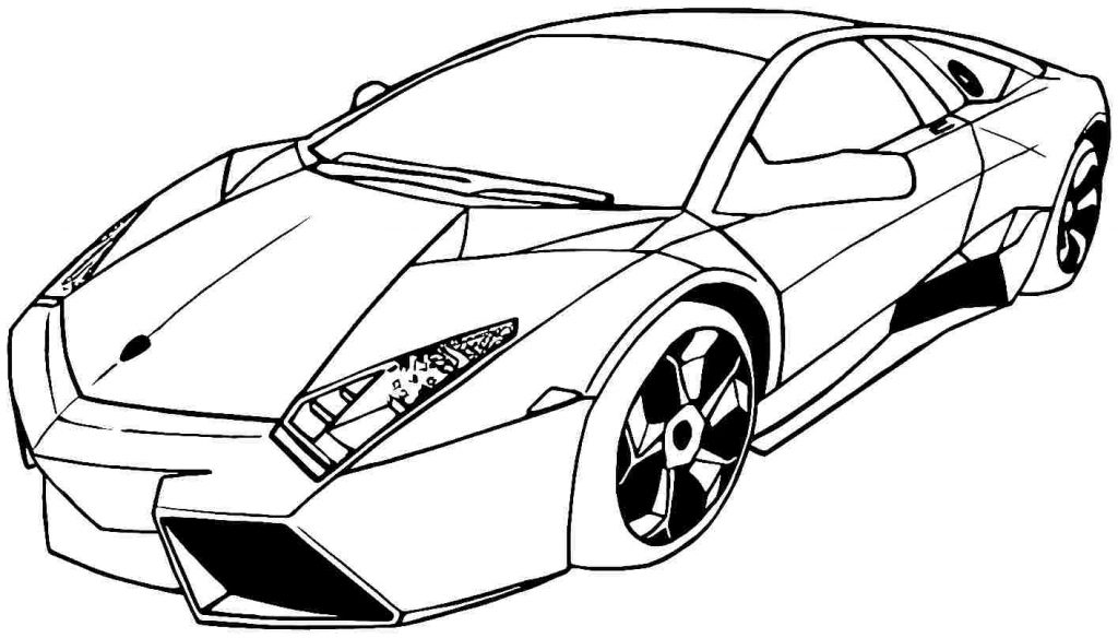 Free Car Coloring Page