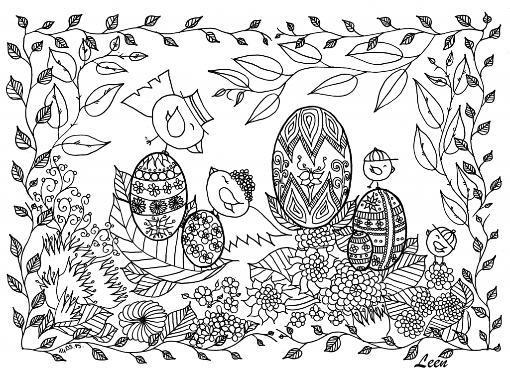 adult coloring free pages - easter coloring pages for adults best coloring pages for