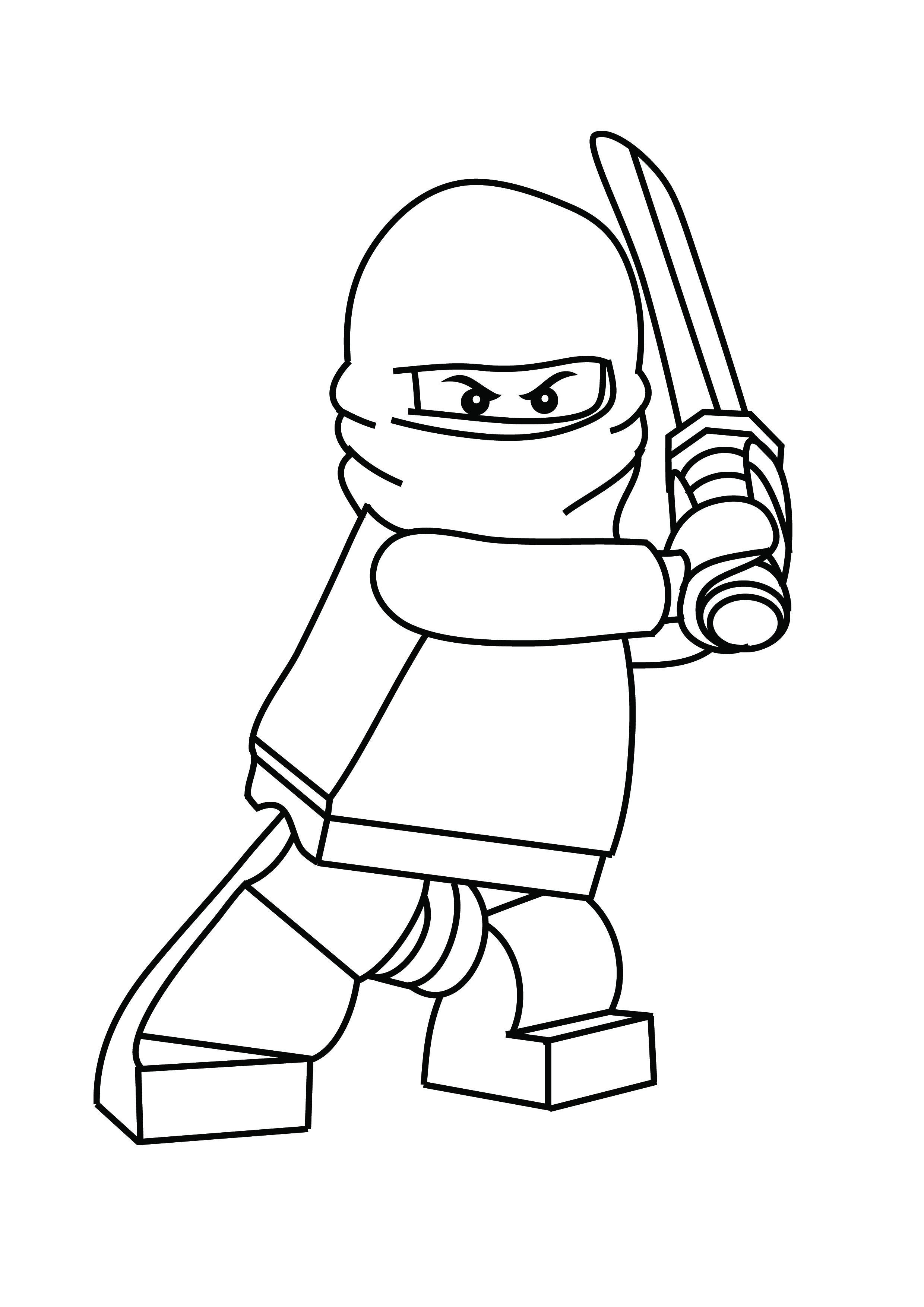 free printable coloring pages ninjago-#16