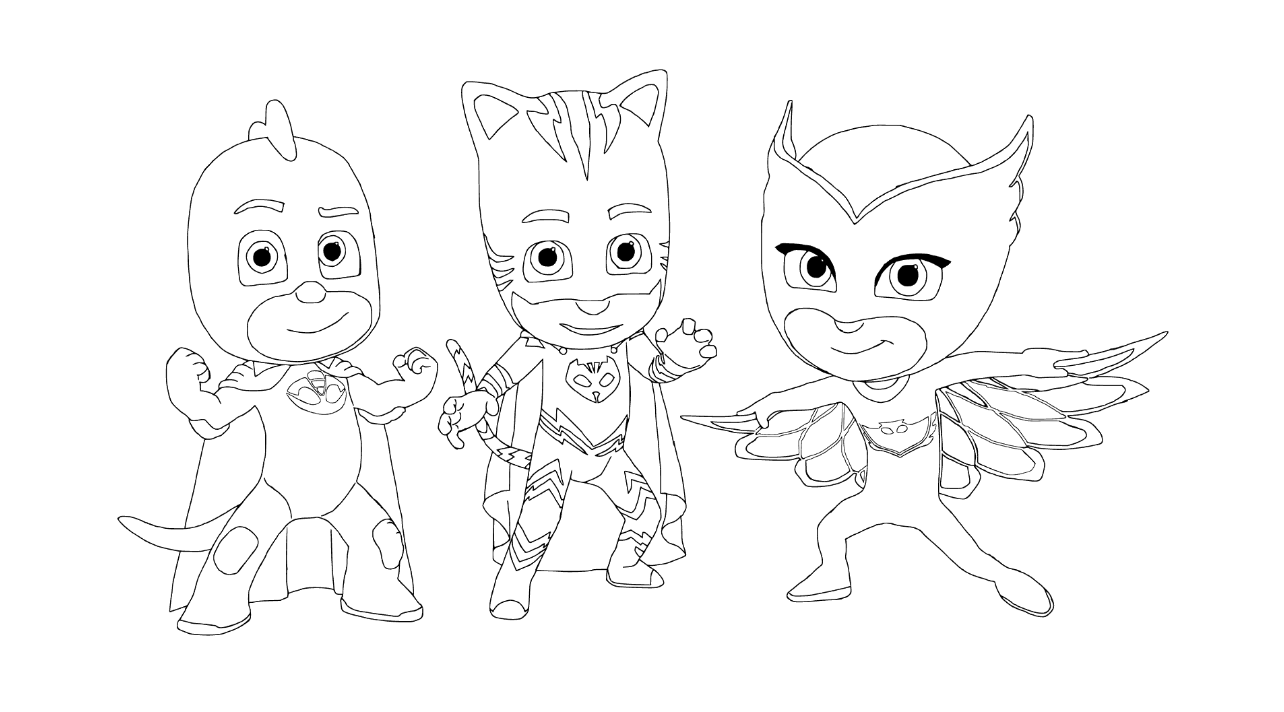 coloring pages free printable - pj masks coloring pages best coloring pages for kids