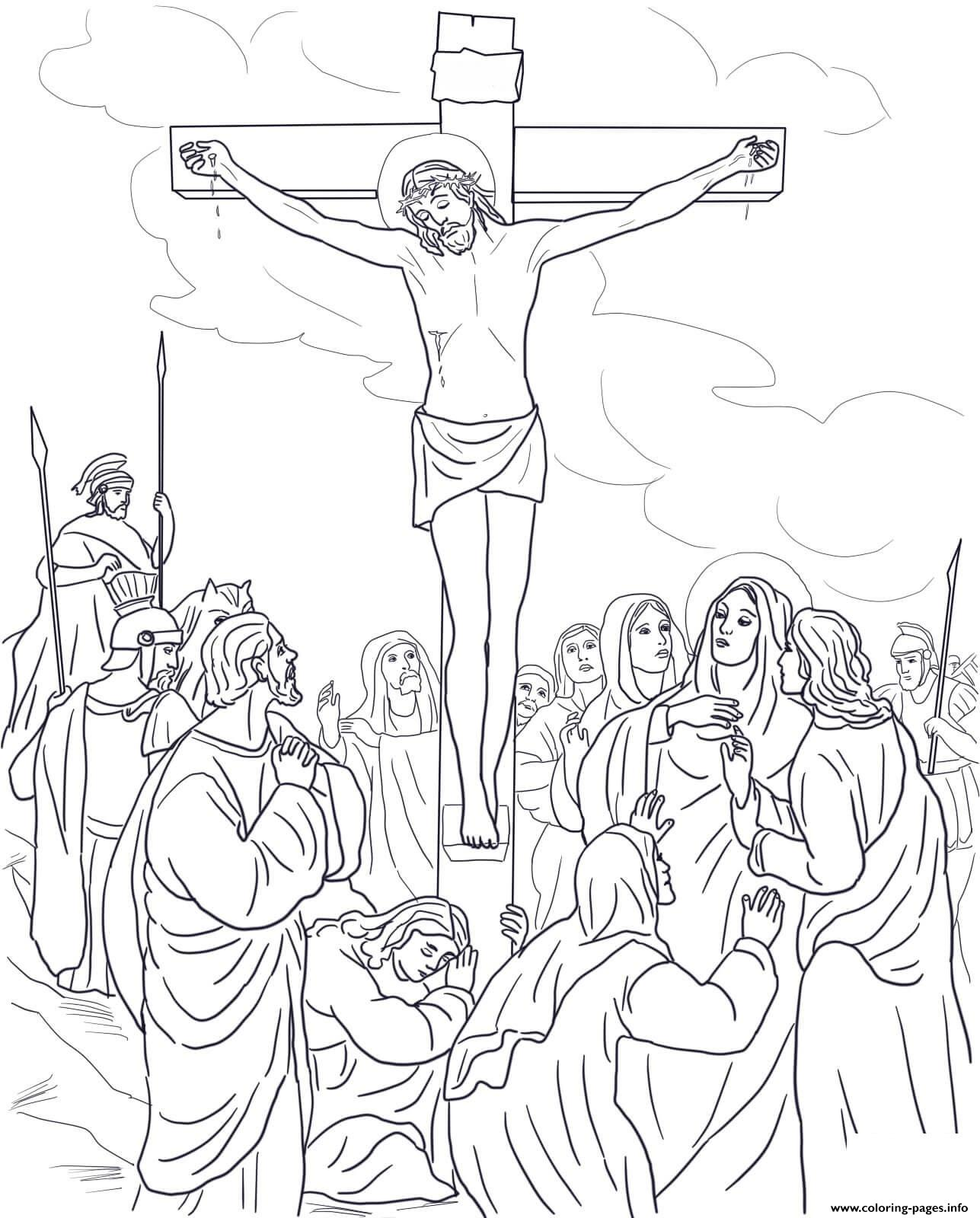 Good friday coloring pages best coloring pages for kids for Coloring pages of cross