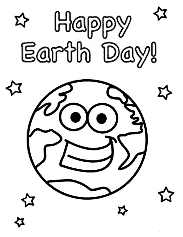 love earth day coloring pages - photo#16