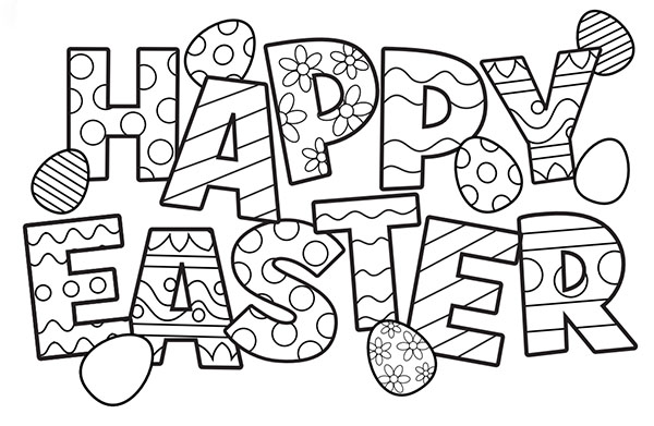 Happy Easter Sheet