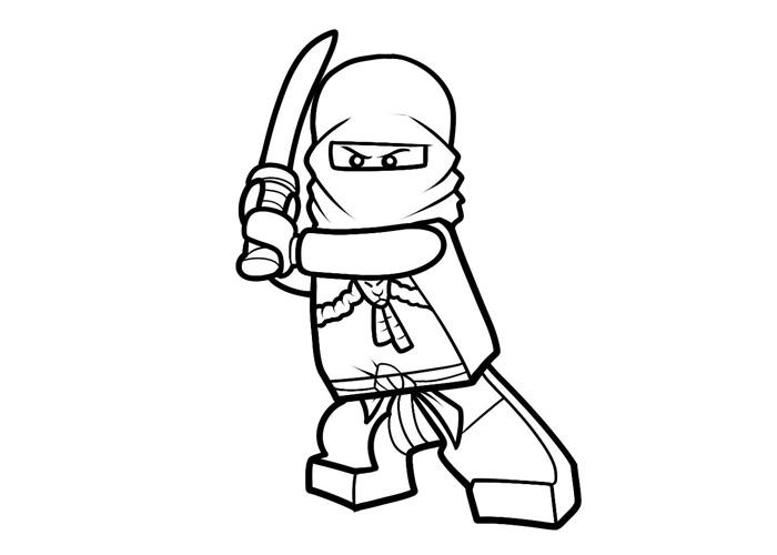 Lego Ninjago Coloring Page Images