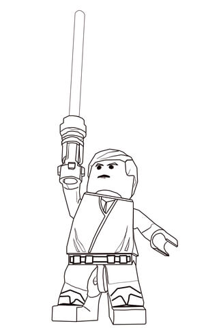 Lego Star Wars Coloring Printable