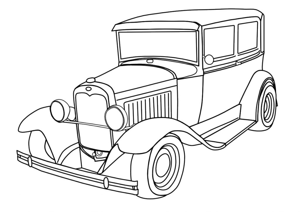 Coloring Pages To Print Of Cars : Car coloring pages best for kids