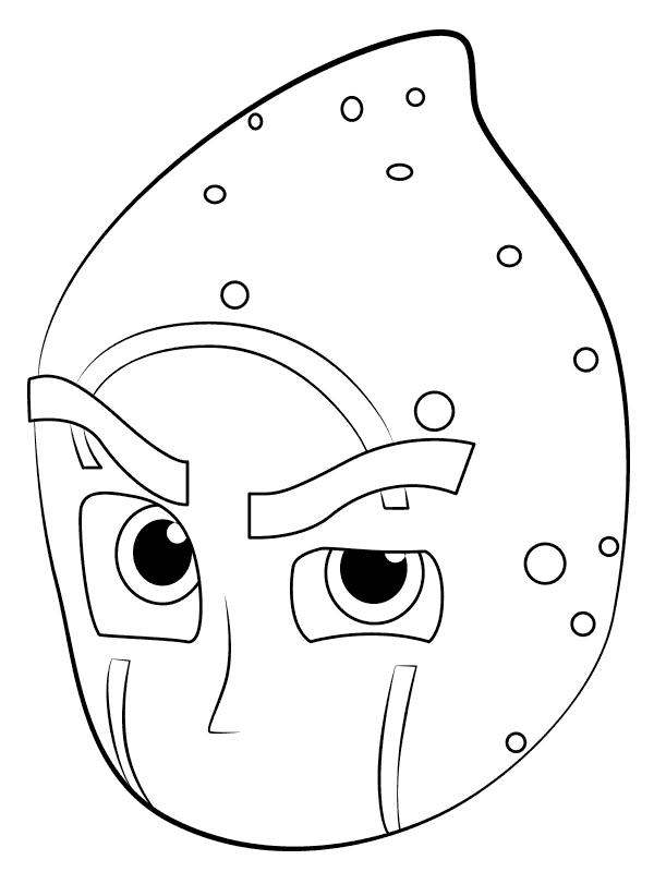 PJ Masks Coloring Page Character Printable
