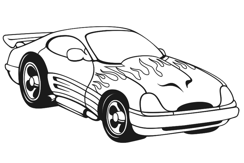 Car Coloring Pages - Best Coloring Pages For Kids