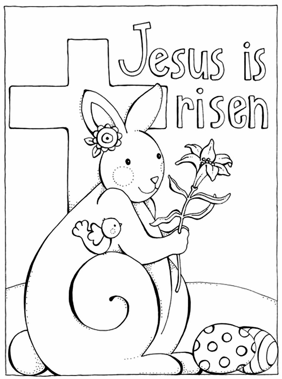 free coloring pages easter jesus - photo#13
