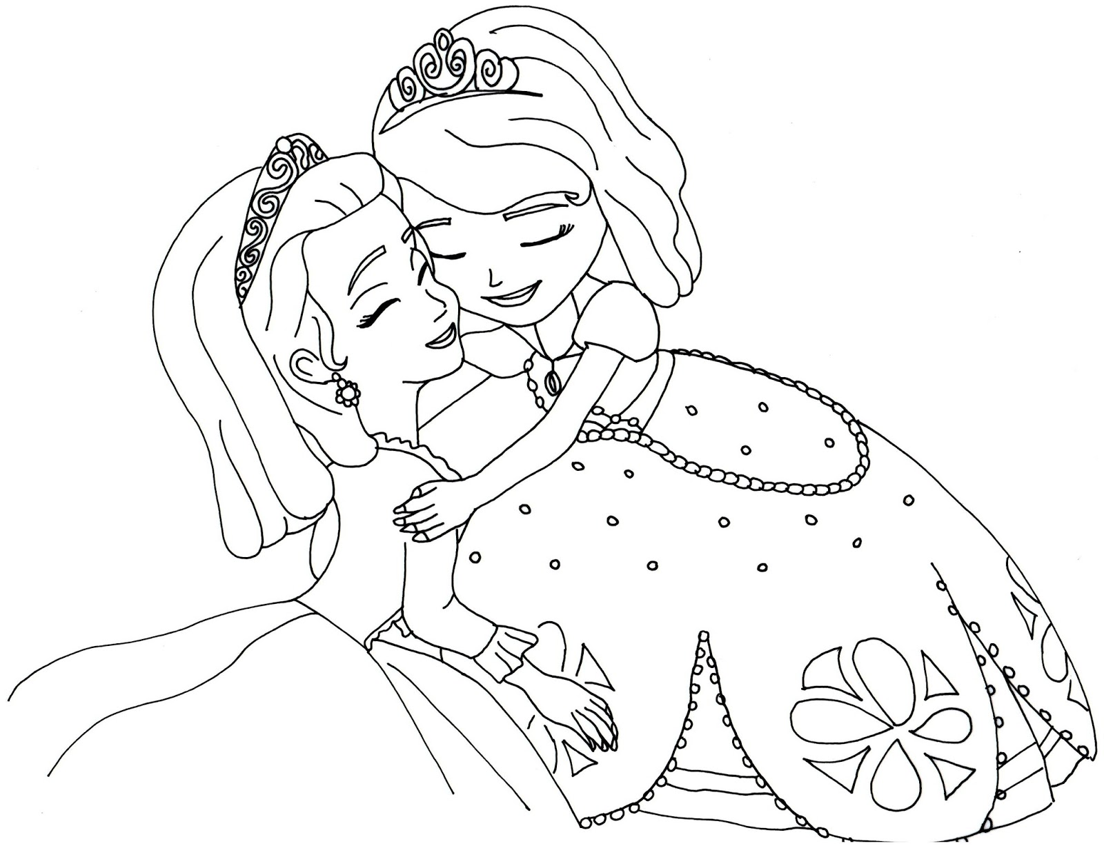 sofia the first coloring pages best coloring pages for kids