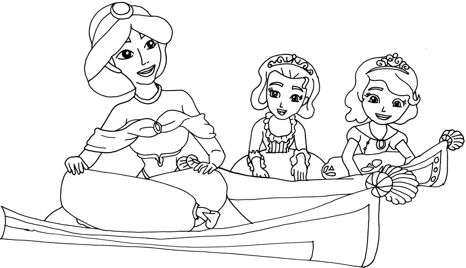 Sofia the First Coloring Pages - Best Coloring Pages For Kids