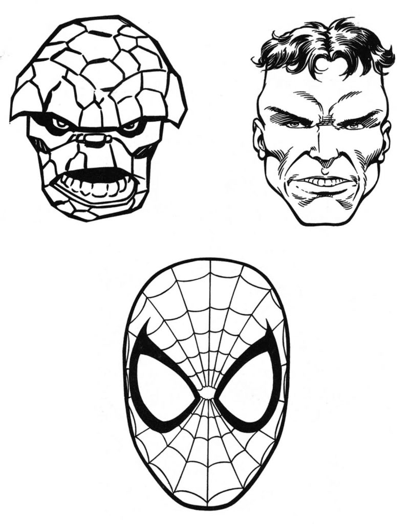 Marvel Coloring Pages Best Coloring